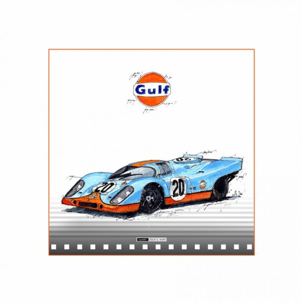 LESLIE G. HUNT - Porsche 917 GULF