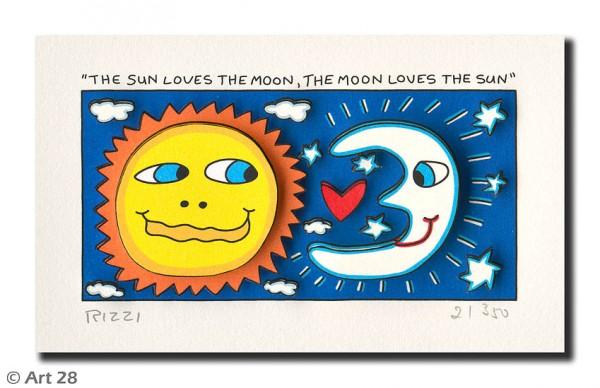 JAMES RIZZI - THE SUN LOVES THE MOON, THE MOON LOVES THE SUN