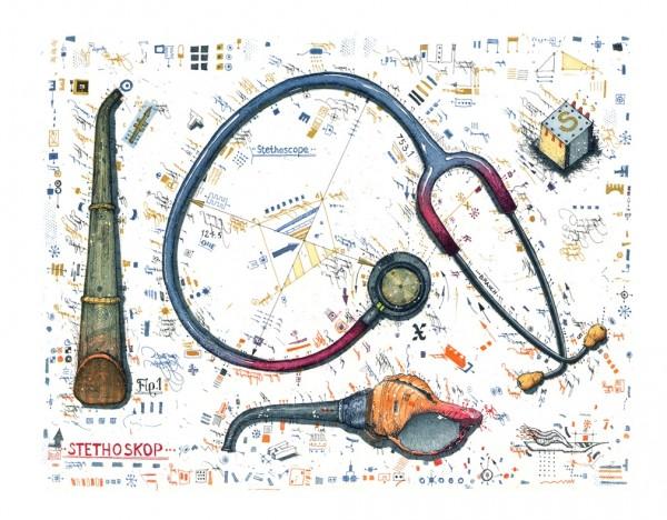 LESLIE G. HUNT - Stethoskop
