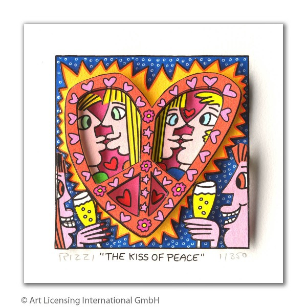JAMES RIZZI - THE KISS OF PEACE