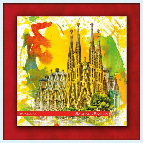 RAY - RAYcities - Barcelona - Sangrada Familia