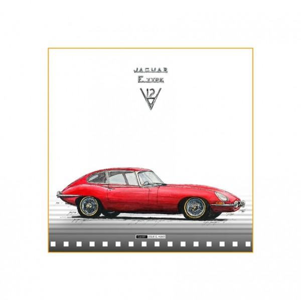 LESLIE G. HUNT - Jaguar E-Type
