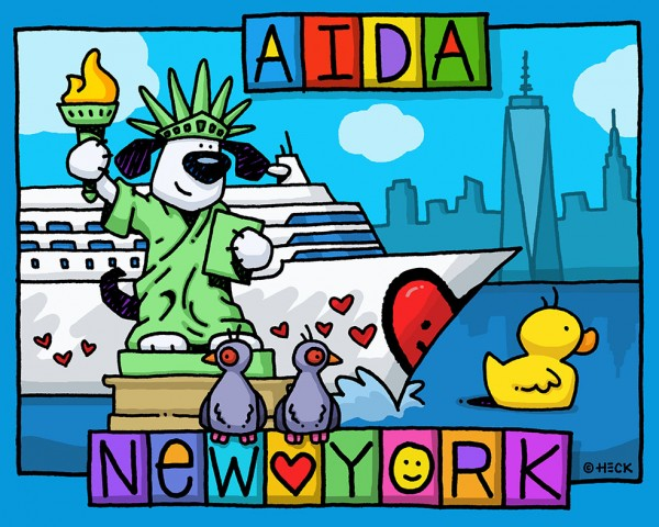 ED HECK - AIDA III - NEW YORK