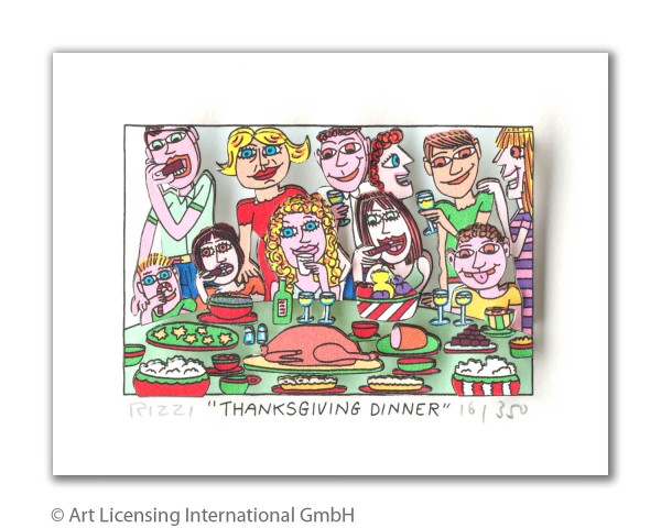 JAMES RIZZI - THANKSGIVING DINNER