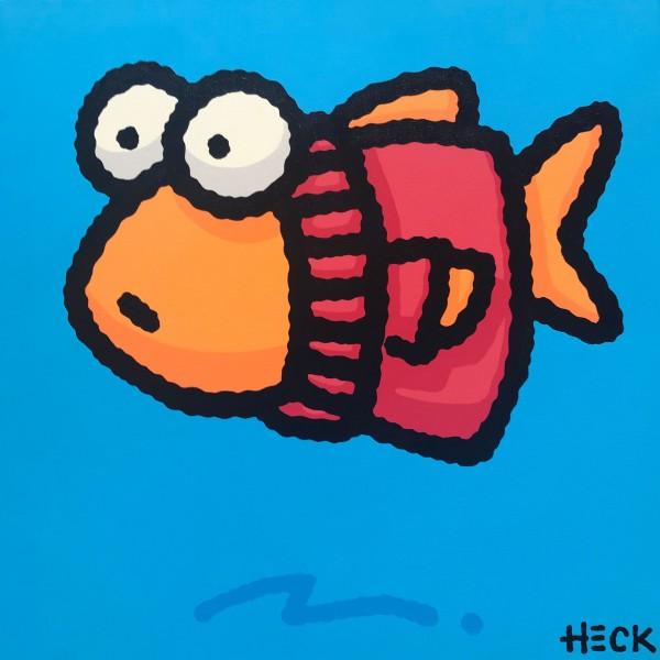 ED HECK - FISH IN THE RED SWEATER * aktuelle Lieferbarkeit anfragen
