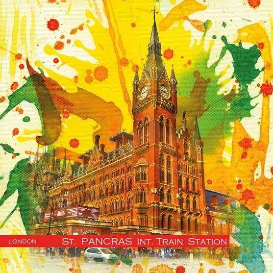 RAY - RAYcities - London - Sankt Pancras International Train Station