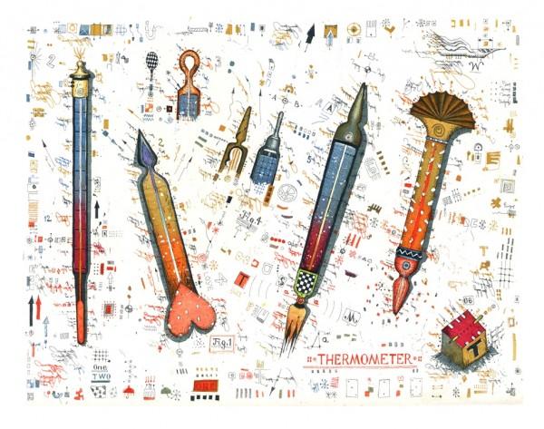 LESLIE G. HUNT - Thermometer