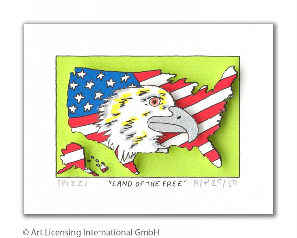 JAMES RIZZI - LAND OF THE FREE