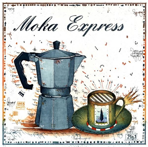 LESLIE G. HUNT - Moka Express - * aktuelle Lieferbarkeit anfragen