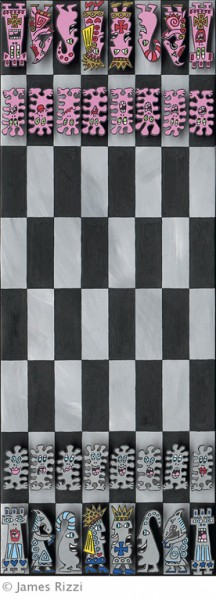 JAMES RIZZI - CHESS (MAGNET)