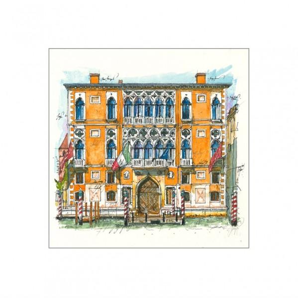 LESLIE G. HUNT - Palazzo Cavalli Franchetti