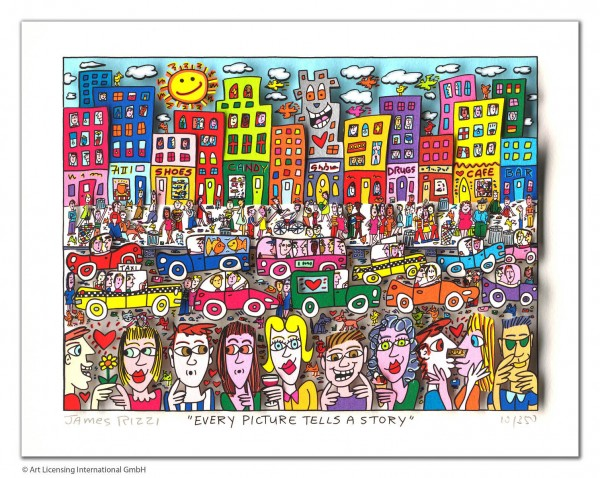 JAMES RIZZI - EVERY PICTURE TELLS A STORY
