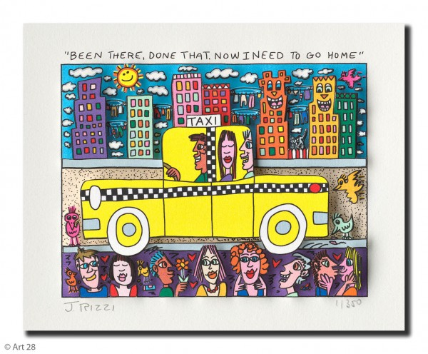 JAMES RIZZI - BEEN THERE, DONE THAT, NOW I NEED TO GO HOME