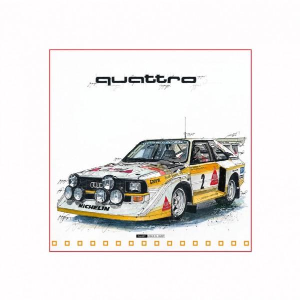 LESLIE G. HUNT - Audi Quattro S1