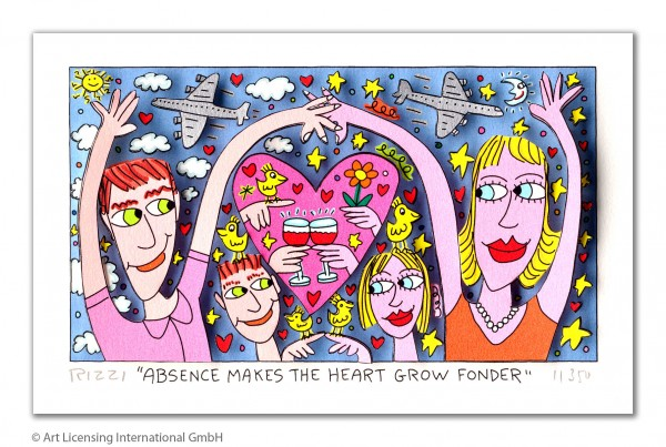 JAMES RIZZI - ABSENCE MAKES THE HEART GROW FONDER