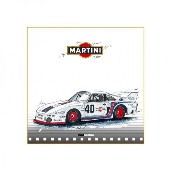 LESLIE G. HUNT - Porsche 935 MARTINI