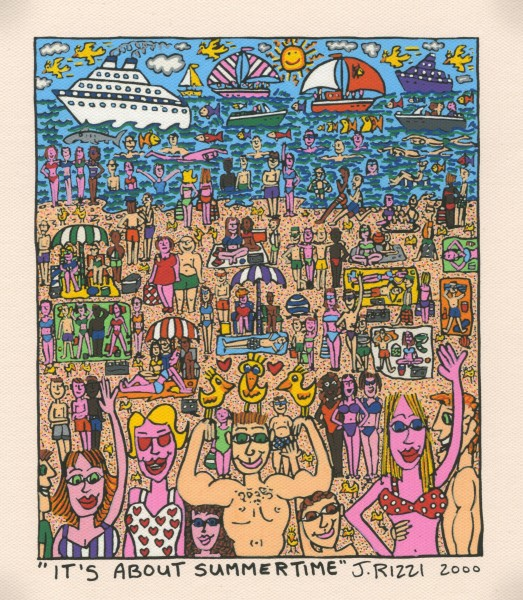 JAMES RIZZI - IT'S ABOUT TRUE LOVE FOR TWO - FOR ... (Pigmentdr.)