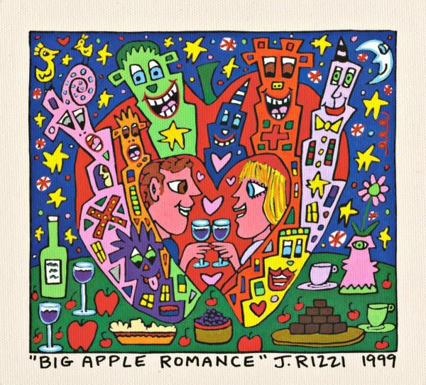JAMES RIZZI - BIG APPLE ROMANCE (Pigmentdruck auf LW)