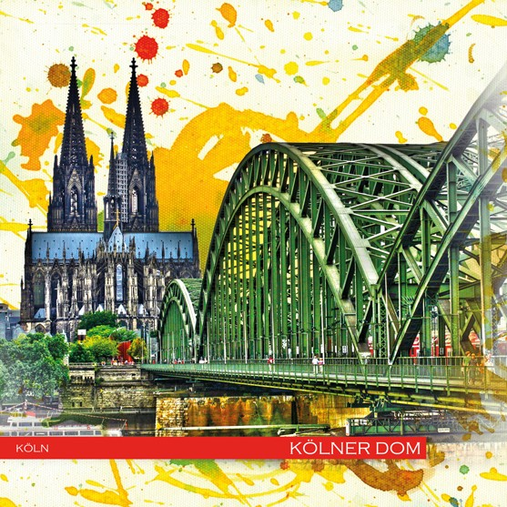 RAY - RAYcities - Köln - Kölner Dom und Hohenzollernbrücke