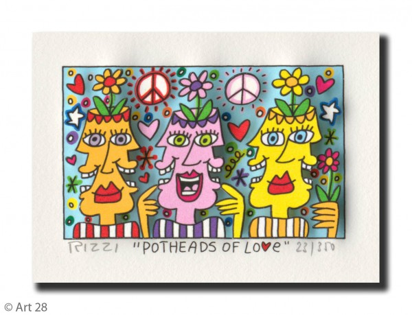JAMES RIZZI - POTHEADS OF LOVE