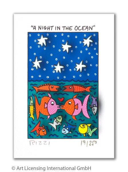 JAMES RIZZI - A NIGHT IN THE OCEAN