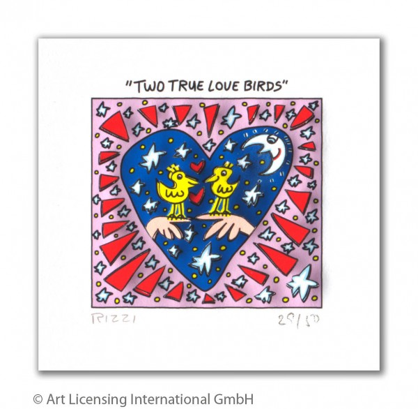 JAMES RIZZI - TWO TRUE LOVE BIRDS