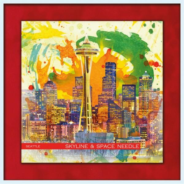 RAY - RAYcities - Seattle - Skyline und Space Needle
