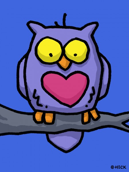 ED HECK - OWL U NEED IS LOVE