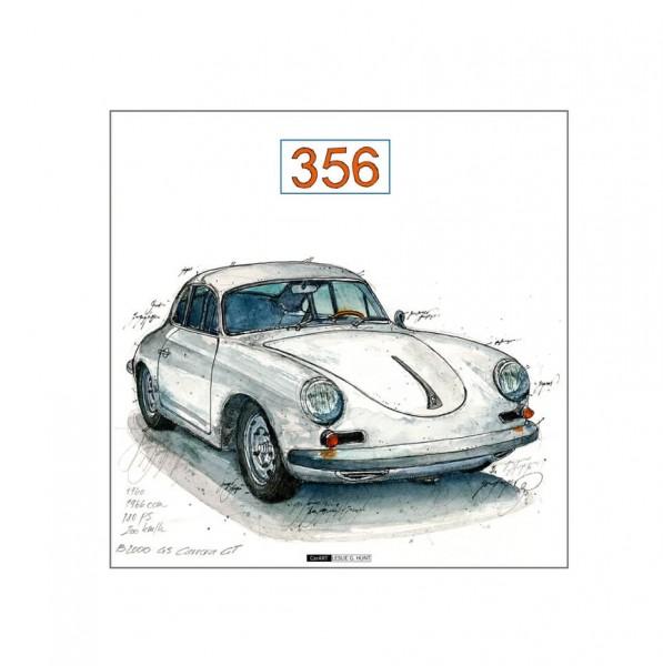 LESLIE G. HUNT - Porsche 356
