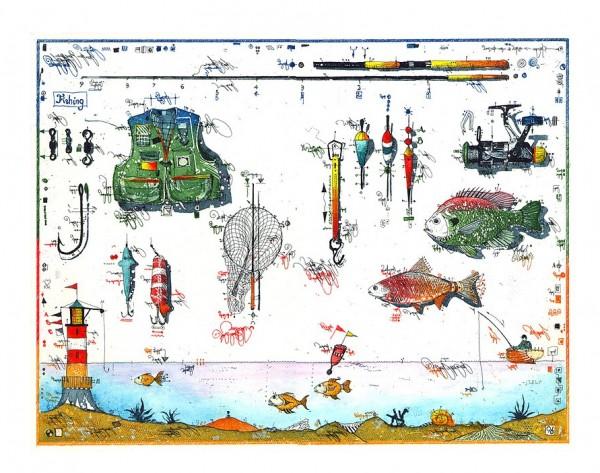 LESLIE G. HUNT - Fishing for Compliments - * aktuelle Lieferbarkeit anfragen