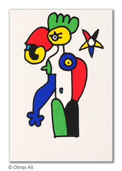 OTMAR ALT - STERNZEICHEN JUNGFRAU - 1999