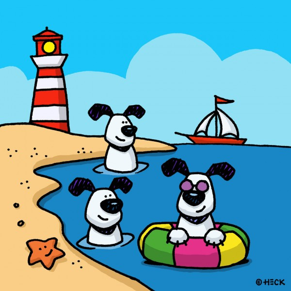 ED HECK - DOGS OF SUMMER