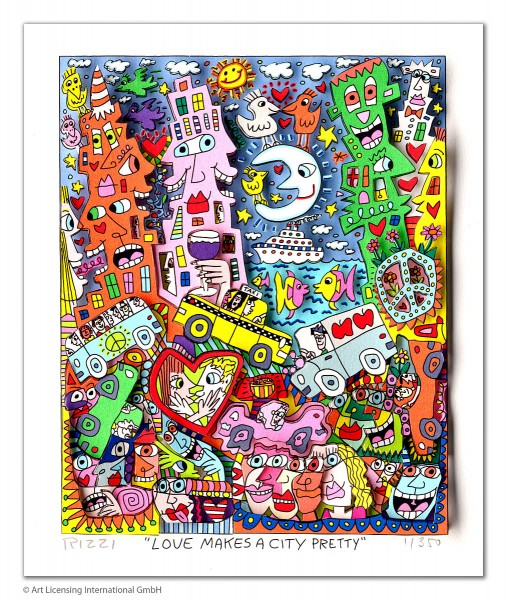 JAMES RIZZI - LOVE MAKES A CITY PRETTY