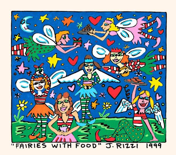 JAMES RIZZI - FAIRIES WITH FOOD