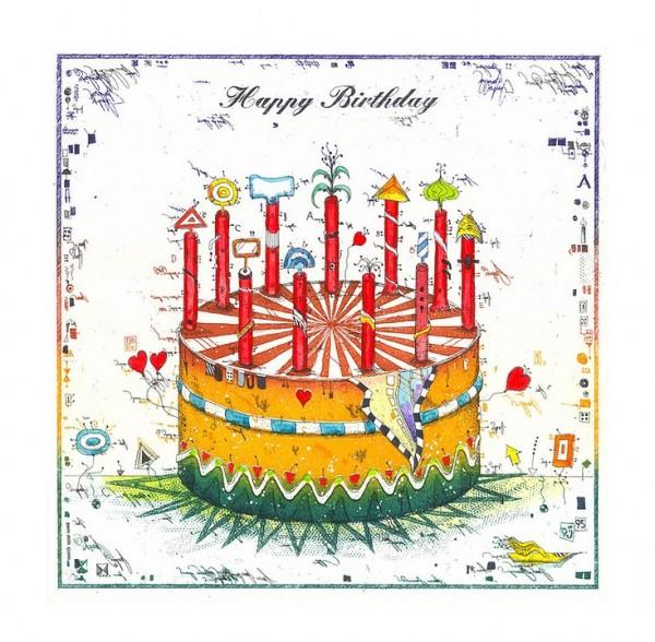 LESLIE G. HUNT - Happy Birthday - * aktuelle Lieferbarkeit anfragen