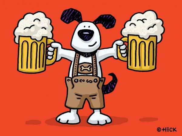 ED HECK - OKTOBERFEST DOG