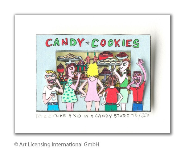 JAMES RIZZI - LIKE A KID IN A CANDY STORE