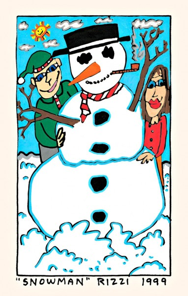 JAMES RIZZI - SNOWMAN
