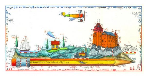 LESLIE G. HUNT - Reisezeichner - * aktuelle Lieferbarkeit anfragen