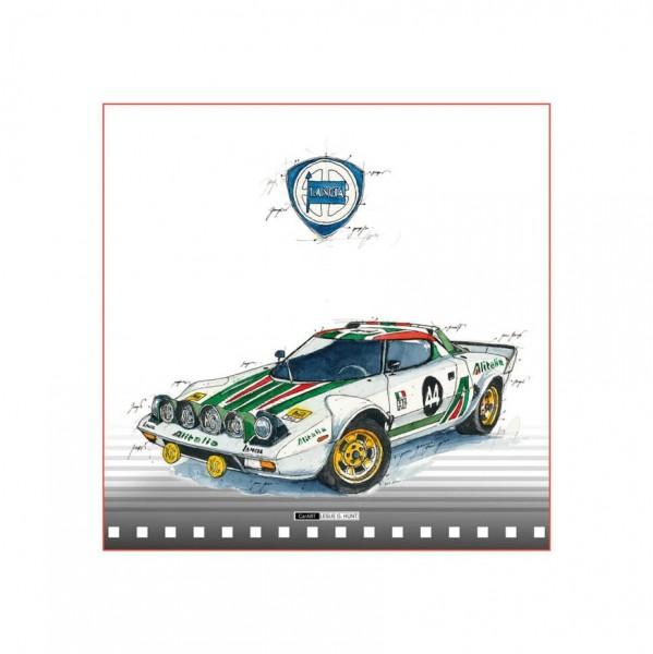 LESLIE G. HUNT - Lancia-Stratos