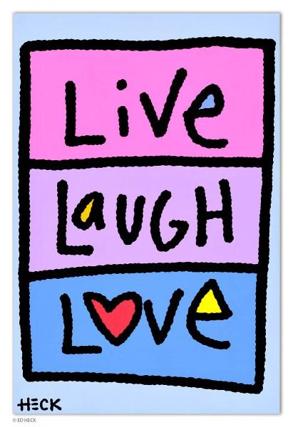 ED HECK - LIVE - LAUGH - LOVE * aktuelle Lieferbarkeit anfragen