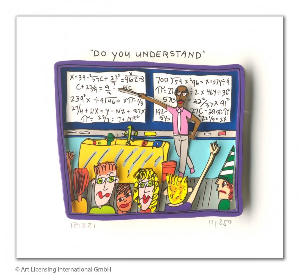 JAMES RIZZI - DO YOU UNDERSTAND