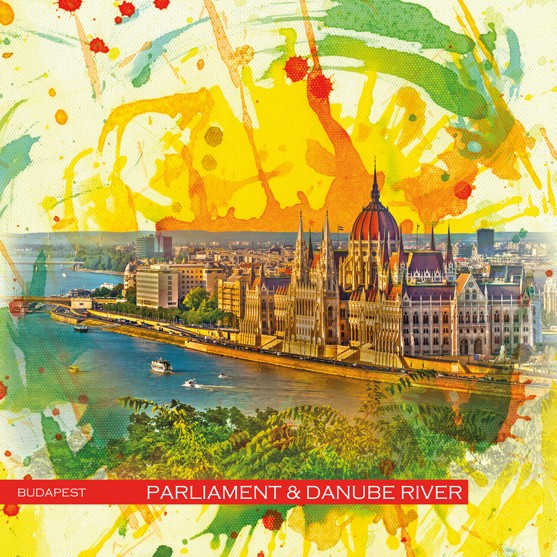 RAY - RAYcities - Budapest - Parliament and Danube - River