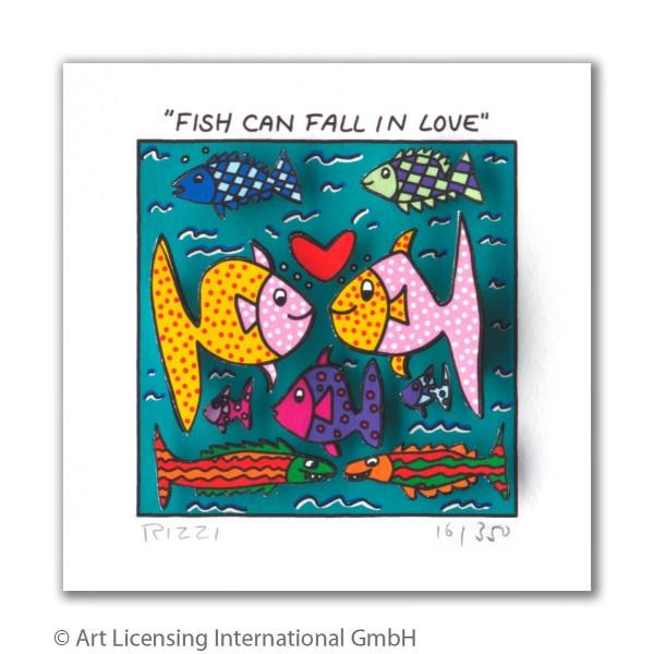 JAMES RIZZI - FISH CAN FALL IN LOVE