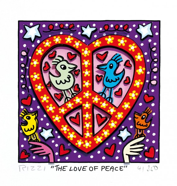 JAMES RIZZI - THE LOVE OF PEACE