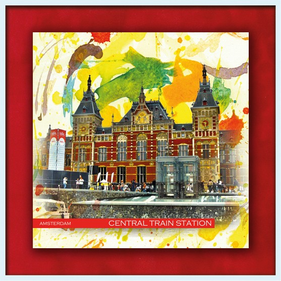 RAY - RAYcities - Amsterdam - Central Train Station