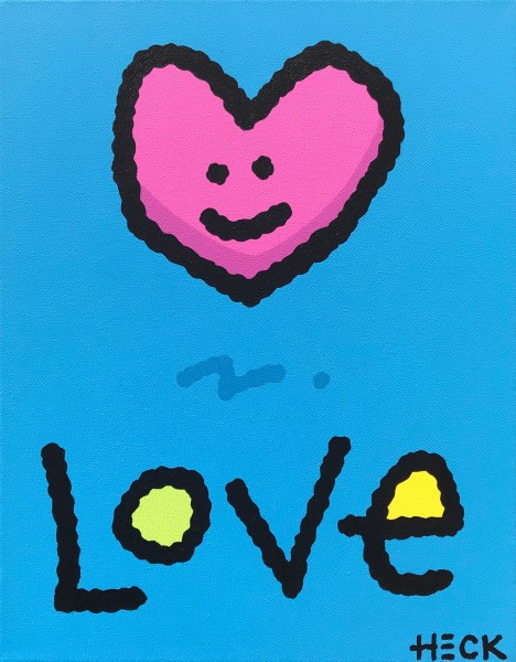 ED HECK - LOVE (BLUE) * aktuelle Lieferbarkeit anfragen
