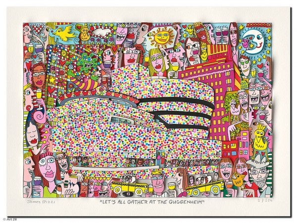 JAMES RIZZI - LET'S ALL GATHER AT THE GUGGENHEIM