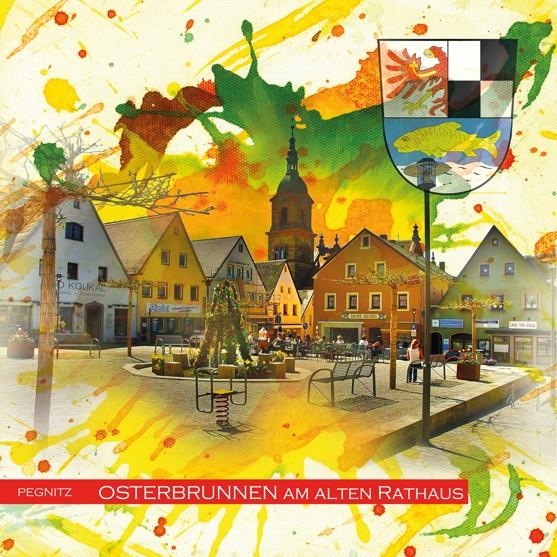RAY - RAYcities - Pegnitz - Osterbrunnen am alten Rathaus