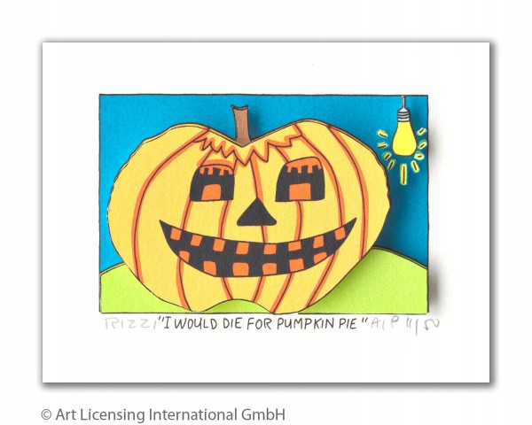 JAMES RIZZI - I WOULD DIE FOR PUMPKIN PIE